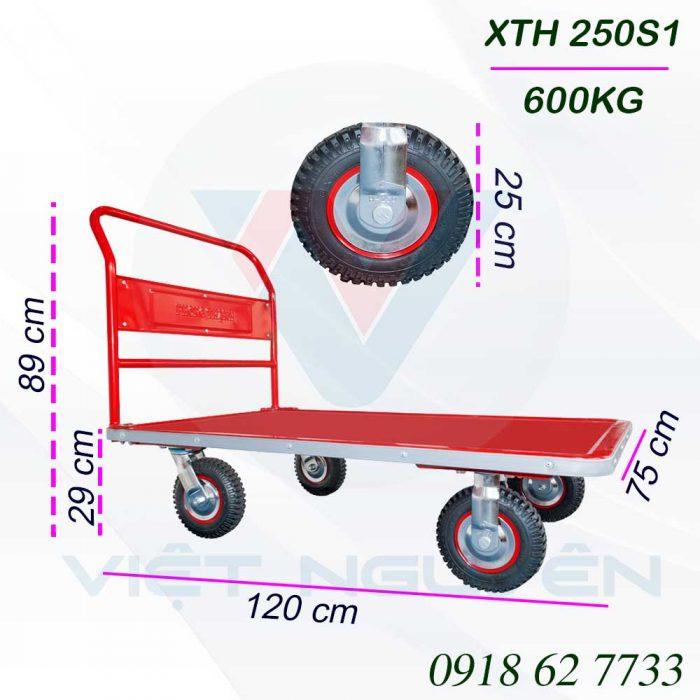 Thông số Kỹ Thuật Xe Đẩy Phong Thạnh XTH 250S1